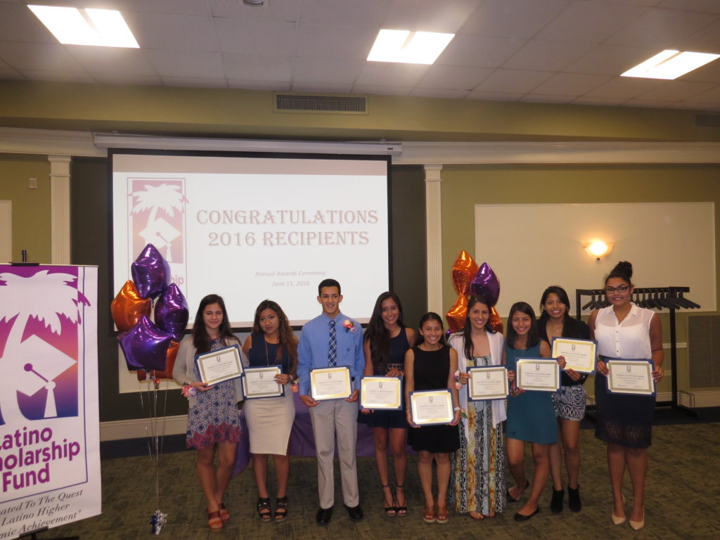 LSF scholarship recipients