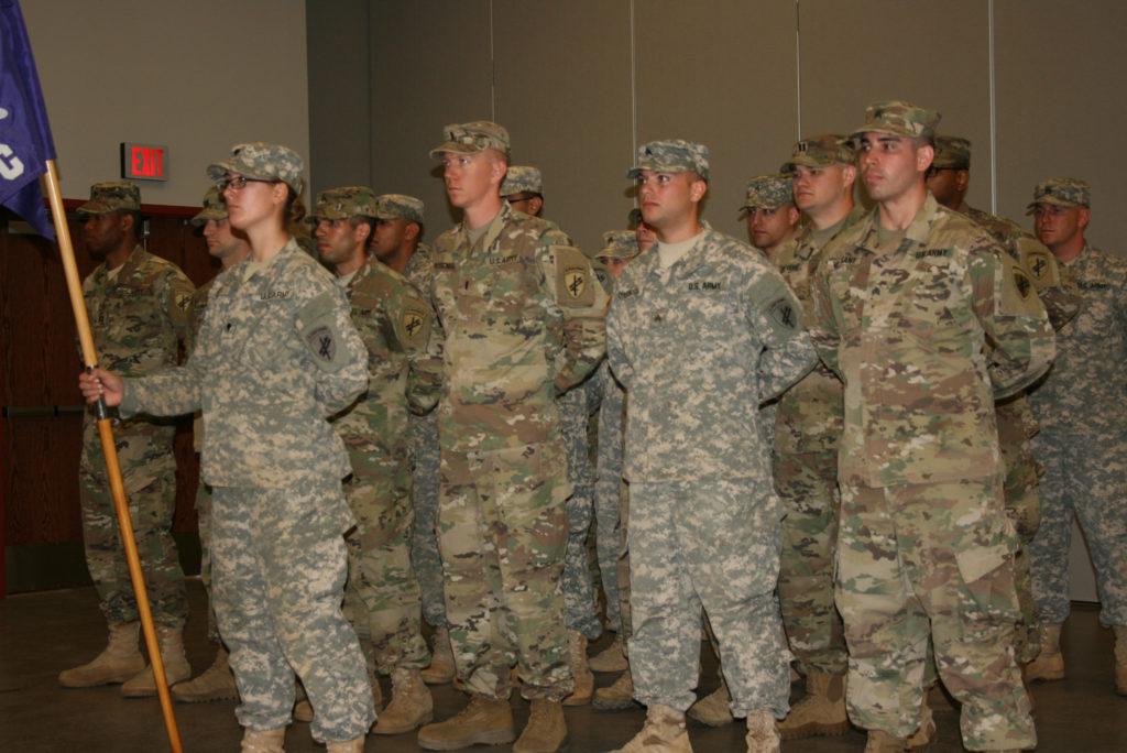 Cerimônia de Despedida dos Soldados do 411º Batalhão de Assuntos Civis