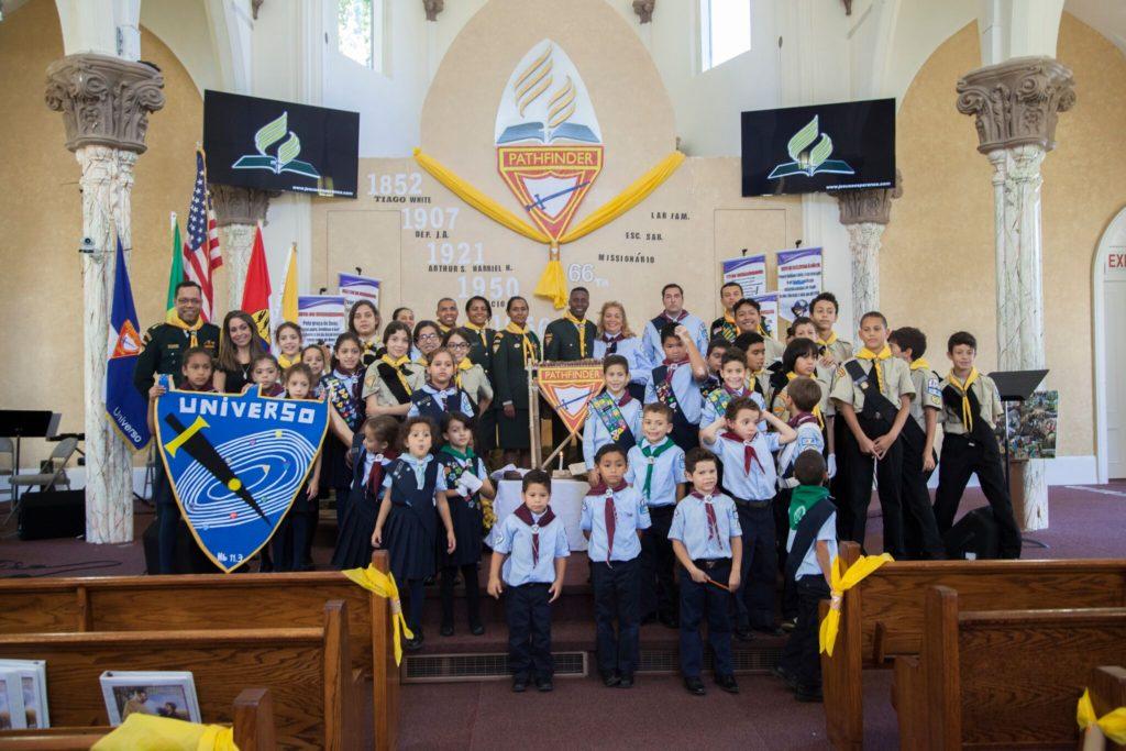 O Clube de Desbravadores Universo Comemora o Dia Mundial dos Desbravadores