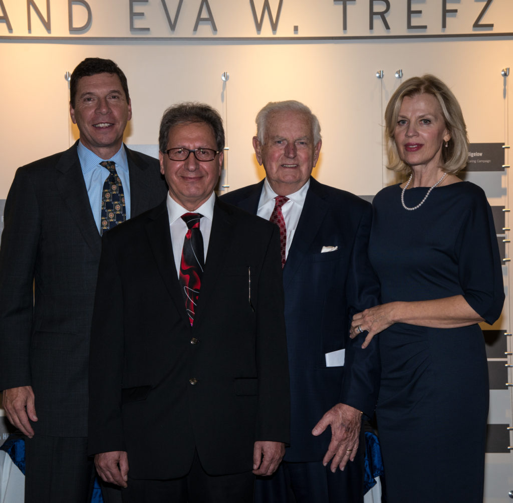 A Família Trefz Cria a Primeira Cátedra Concedida a Saúde Geral em Connecticut