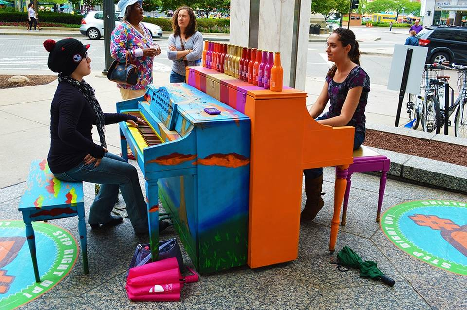 Criando espaços públicos no centro de Danbury