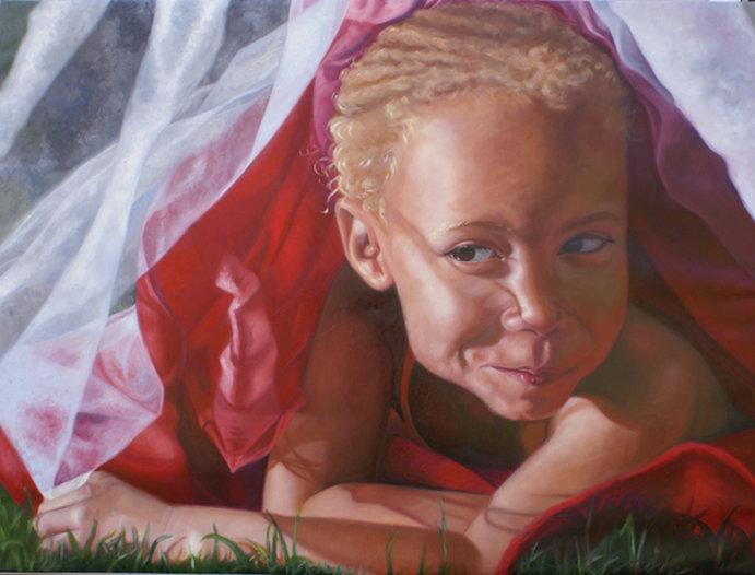 Palestra da artista visitante, a pintora Nina Buxenbaum