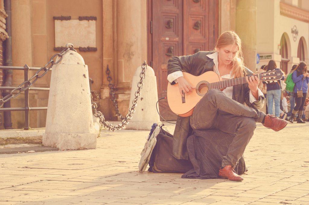 Música ao vivo no Centro da Cidade
