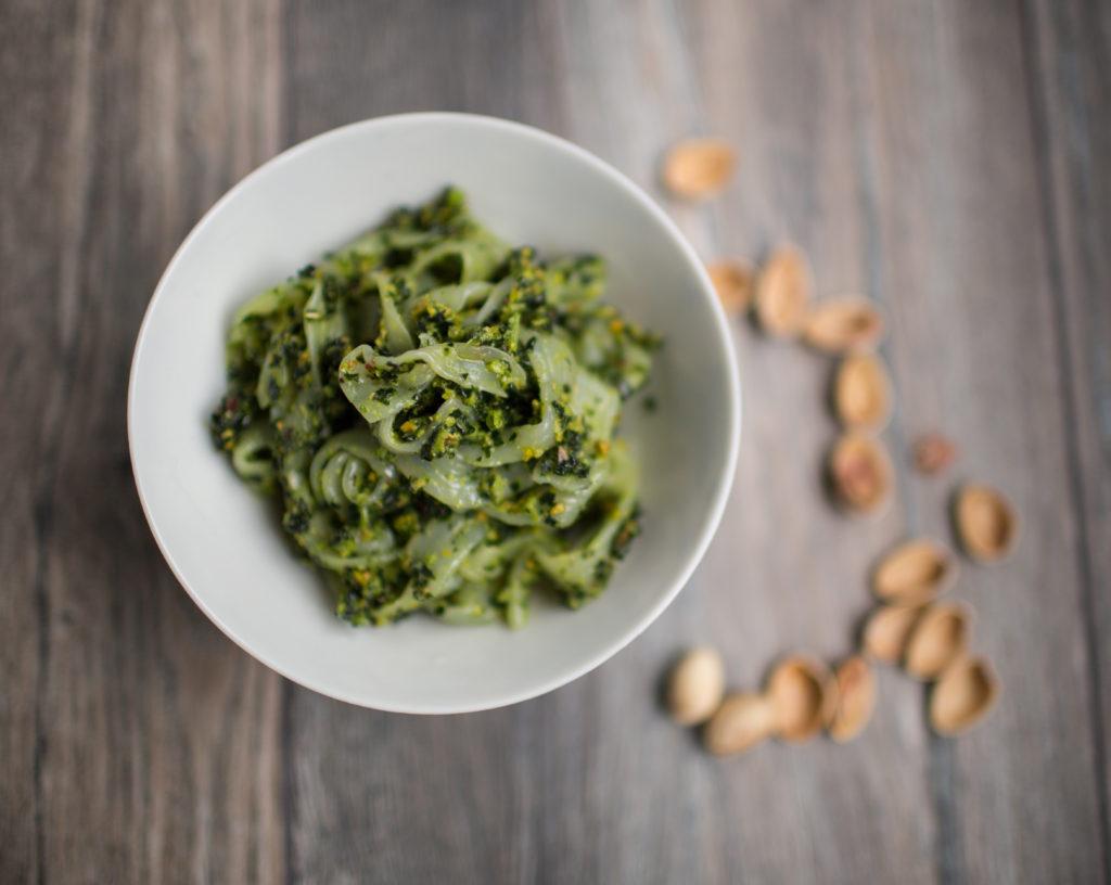 Pesto Cítrico de Couve e Pistache
