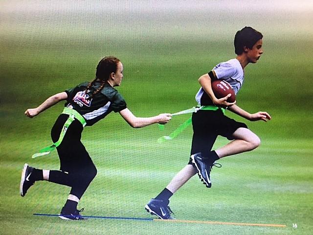 Flag Football Disponível para Meninos e Meninas na Área da Grande Danbury