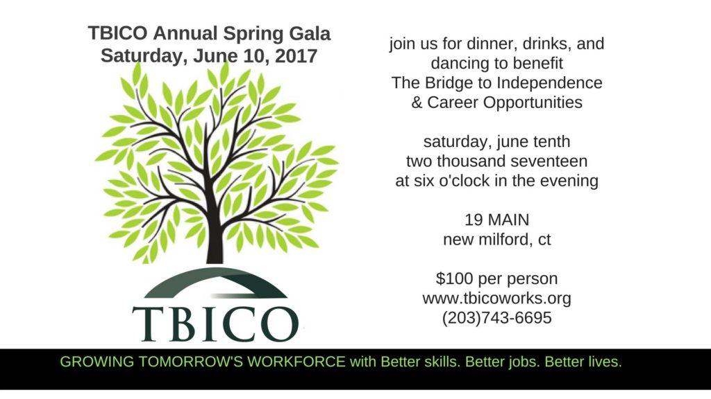 Você Está Convidado para o Evento de Gala Anual de Primavera 2017 da TBICO