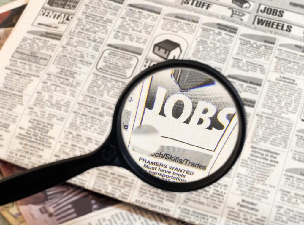 Taxa de Desemprego de CT Subiu 4,9% em Abril