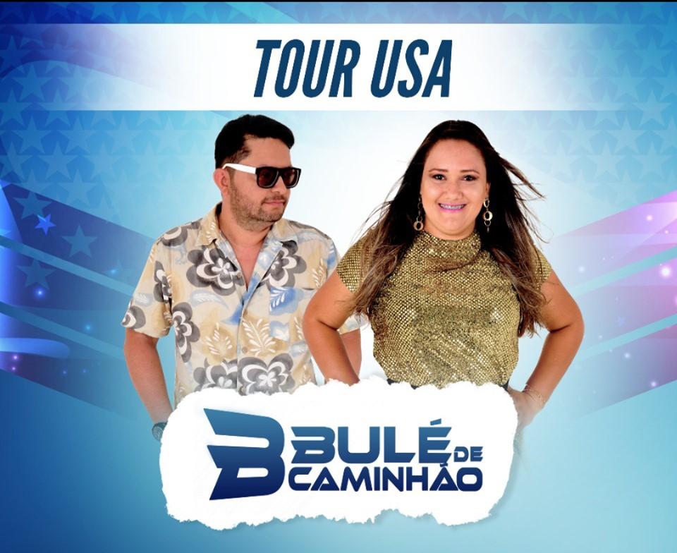 Tour USA 2017 da Banda de Forró Bulé de Caminhão passa por Connecticut