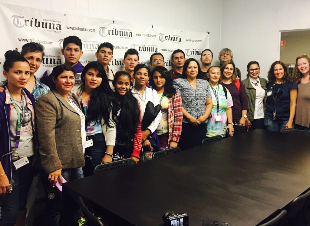 Estudantes Ribeirinhos da Floresta de Caxiuanã no Brasil Participam de Intercâmbio Cultural em Connecticut