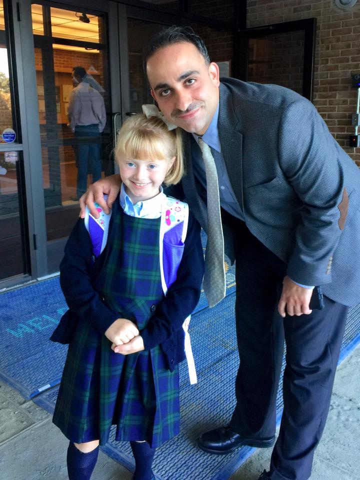 principal and student
