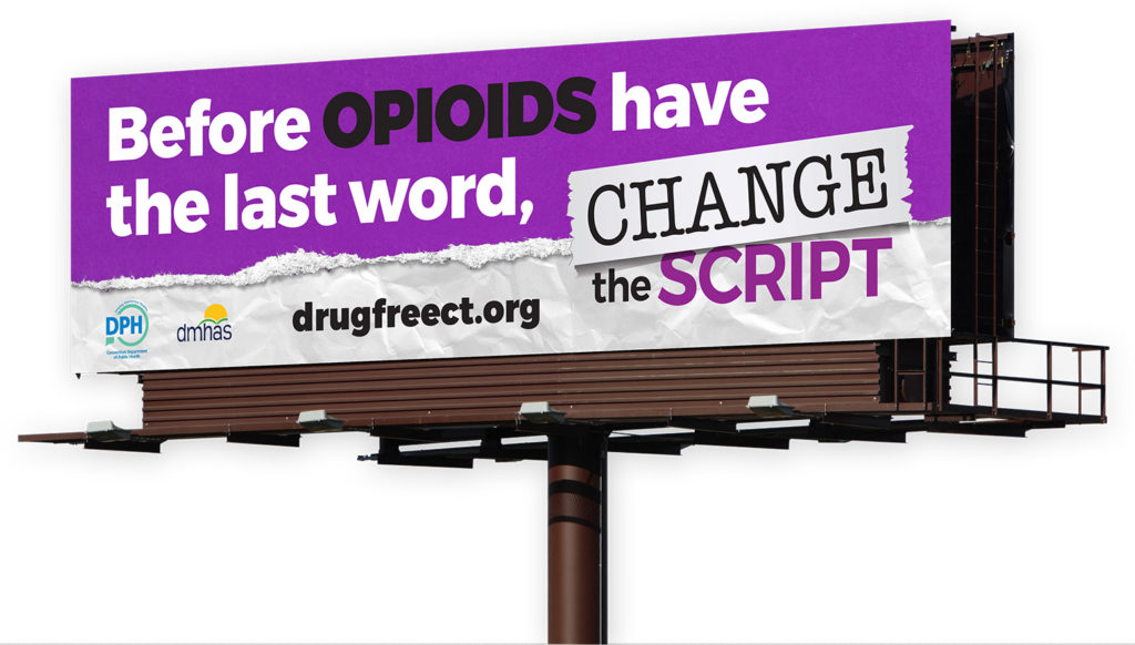 Estado Lança Campanha 'Change the Script' para Combater a Crise de Abuso de Opioides