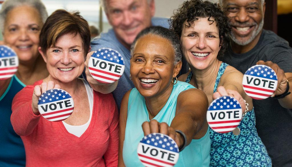 Você Pode Ser a diferença. Comprometa-se a Votar nas Eleições de 2018