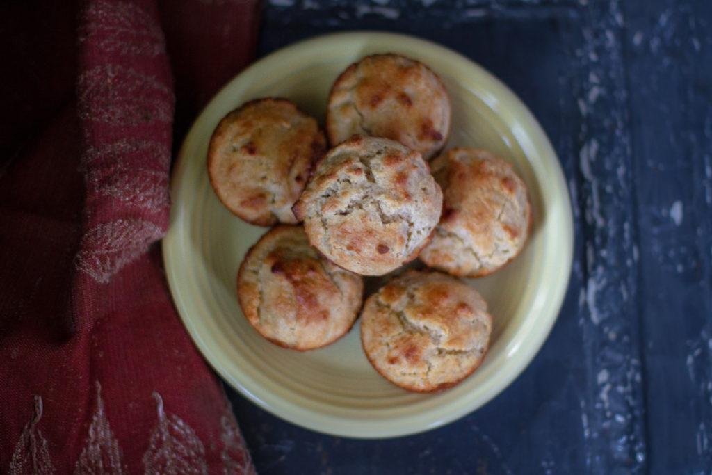 Muffins de Amêndoa e Canela
