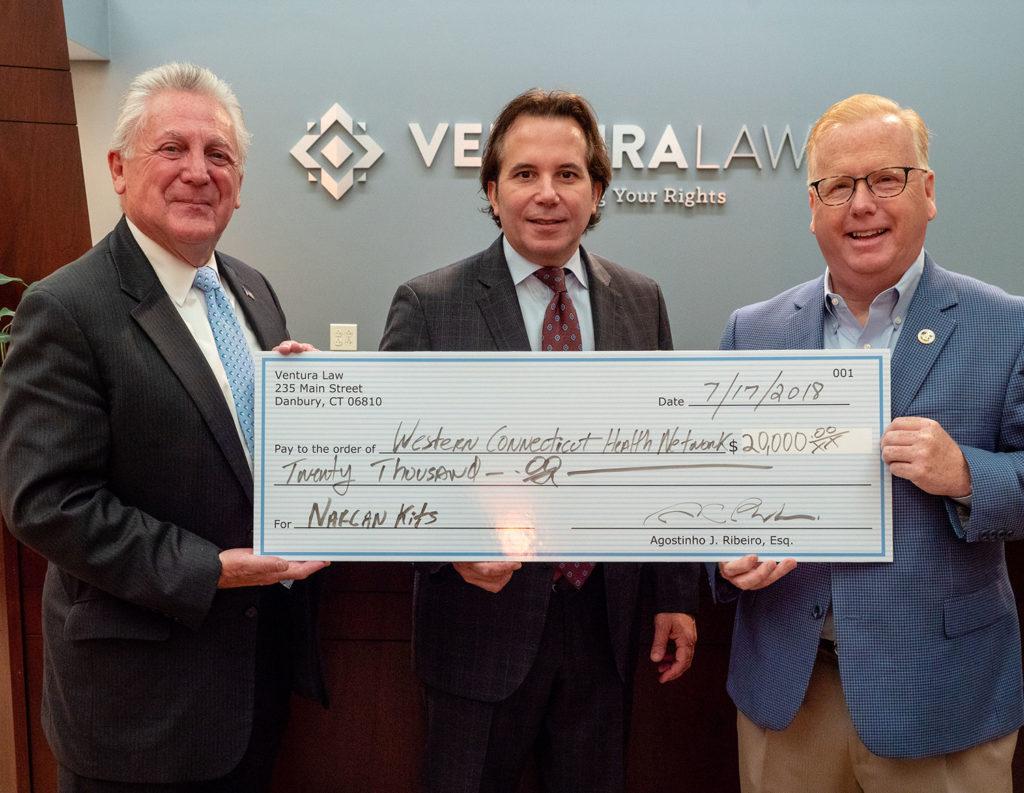 Ventura Law doa US$ 20 mil na Luta Contra a Epidemia de Opiáceos em Nossas Comunidades