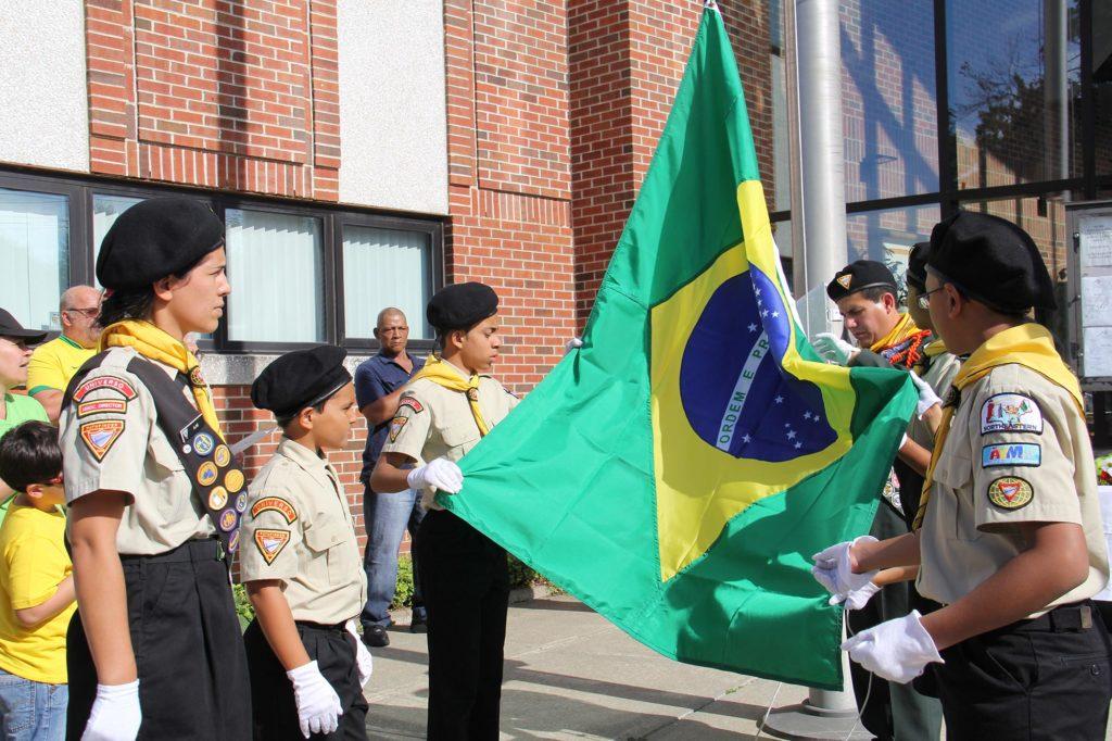 Celebrando a Independência do Brasil em Connecticut