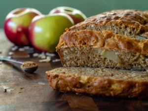 Apple Pie Spice Bread Sliced