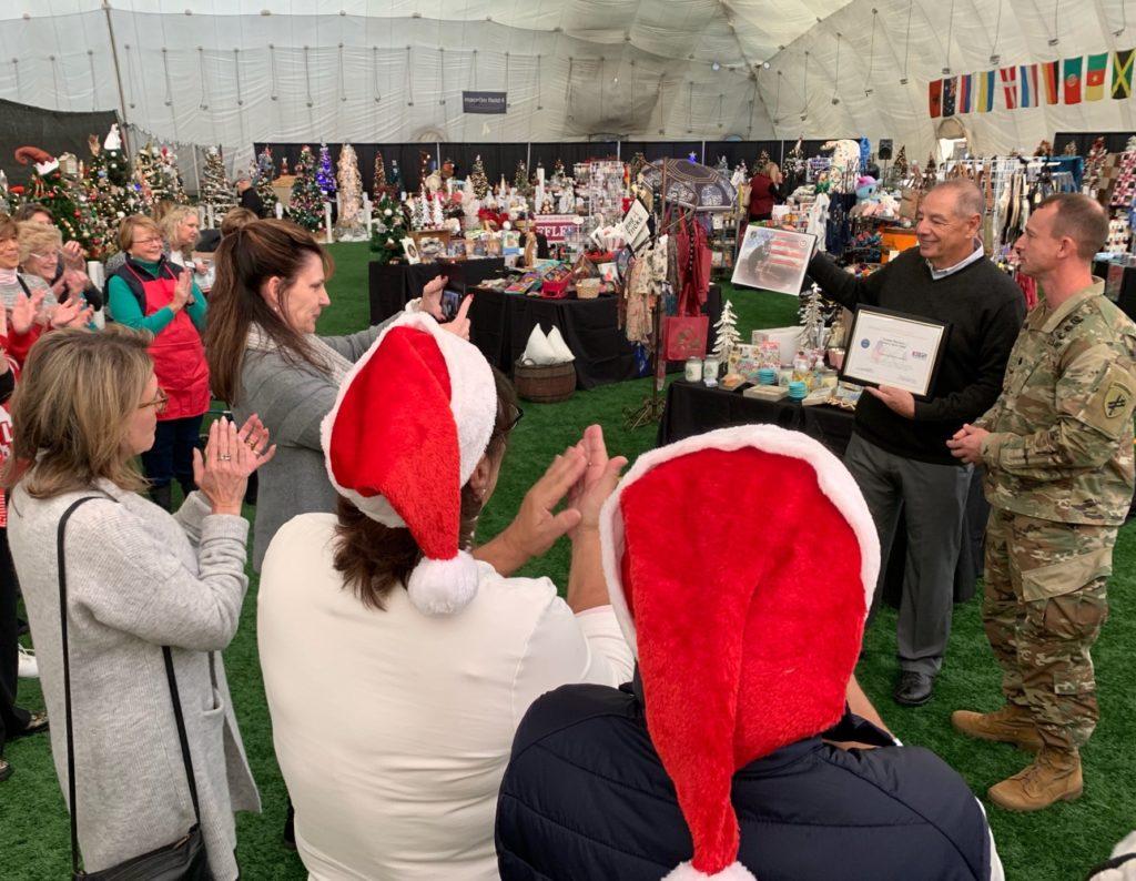 Proprietário da Danbury Sports Dome Reconhecido pelo Apoio aos Soldados