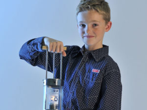 Ten year old Niklas Dumhart has been selected as the 2016 ORF Peace Light child