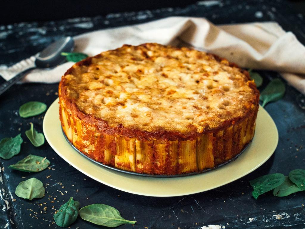 Torta de Rigatoni Picante