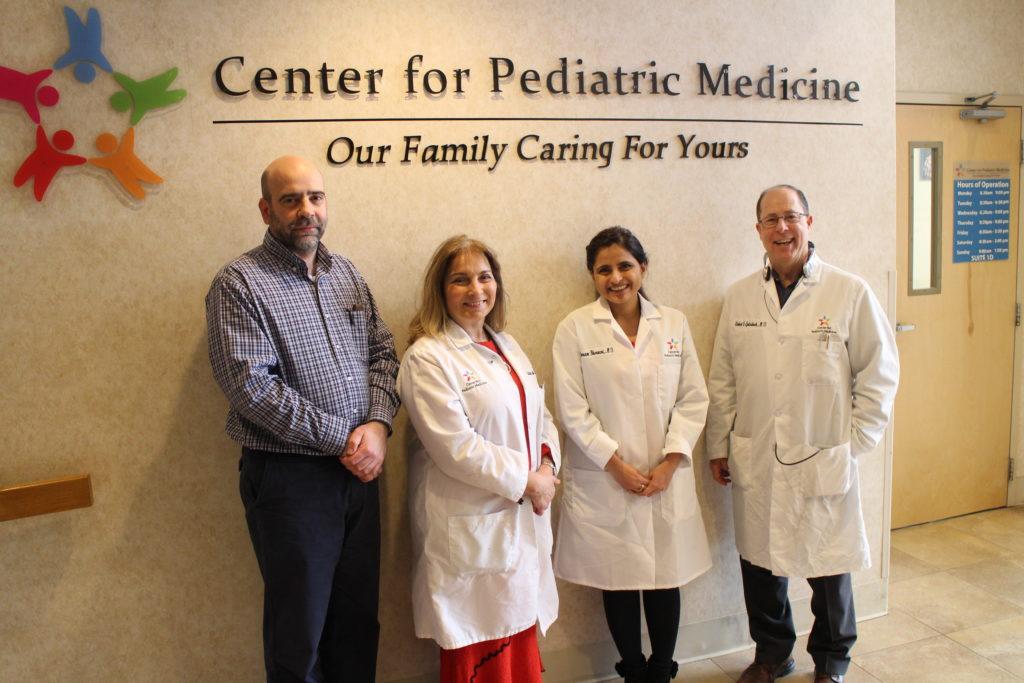 Centro de Medicina Pediátrica Ajuda Crianças a Crescerem Saudáveis